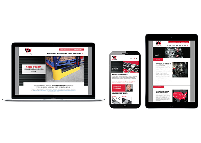 Worldwide Material Handling Website Redesign by Gerard
