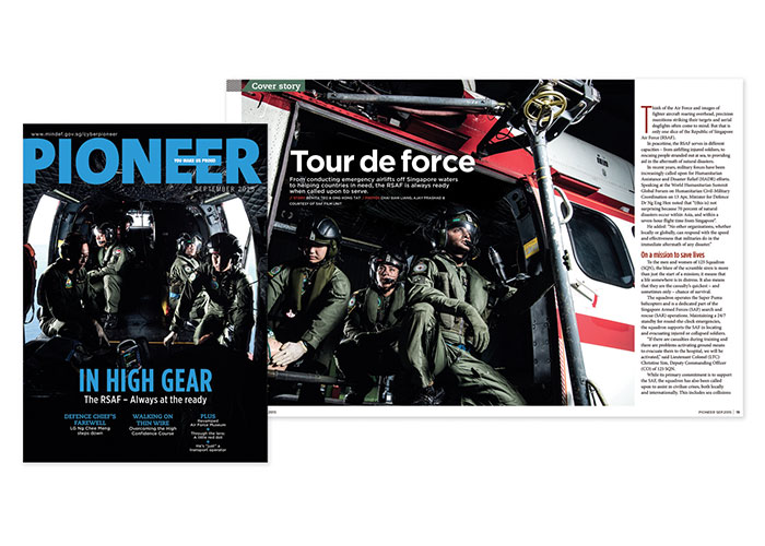 Pioneer September 2015 - In High Gear by Ministry of Defence, Singapore, Defence Media Centre