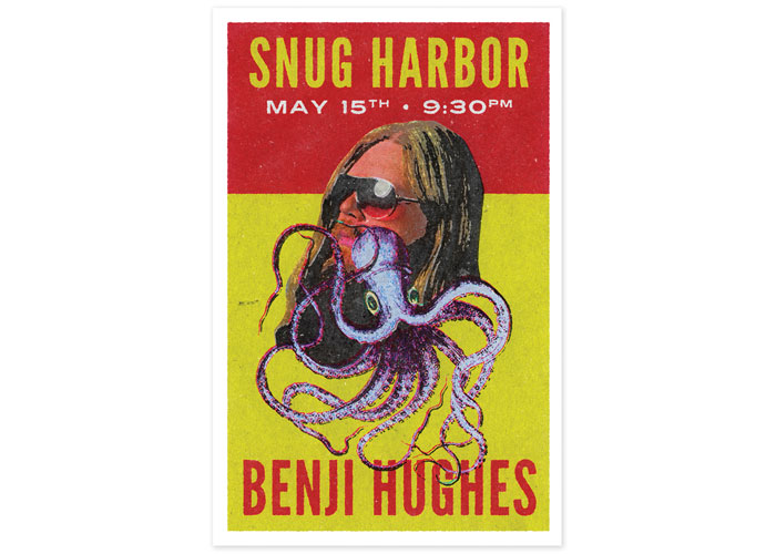 Snug Harbor Benji Hughes Poster by Sokal Media Group