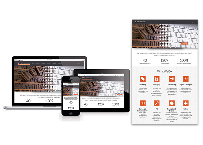 TFI Envision, Inc. Responsive Website - 2015 New Design by TFI Envision, Inc.