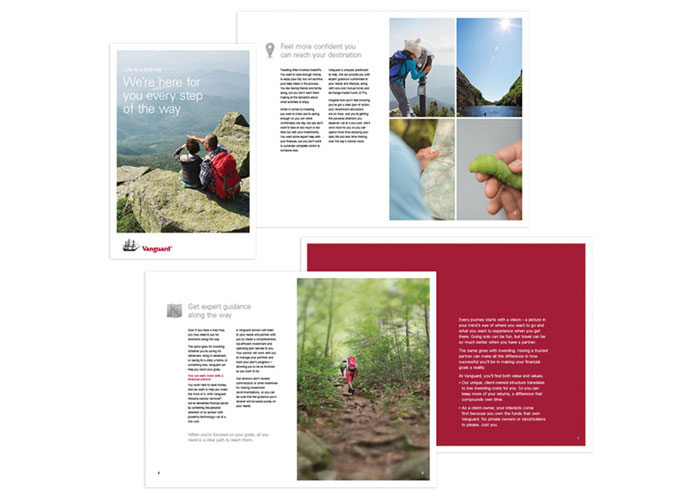 Life Is A Journey Brochure by Vanguard
