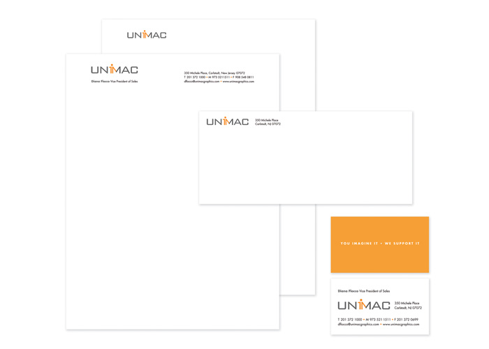 Unimac Stationery by Bonavita Design LLC