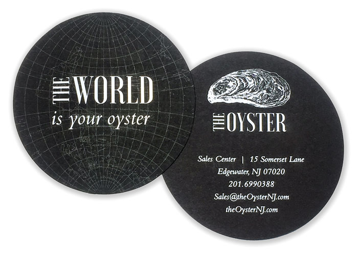 The Oyster Business Cards