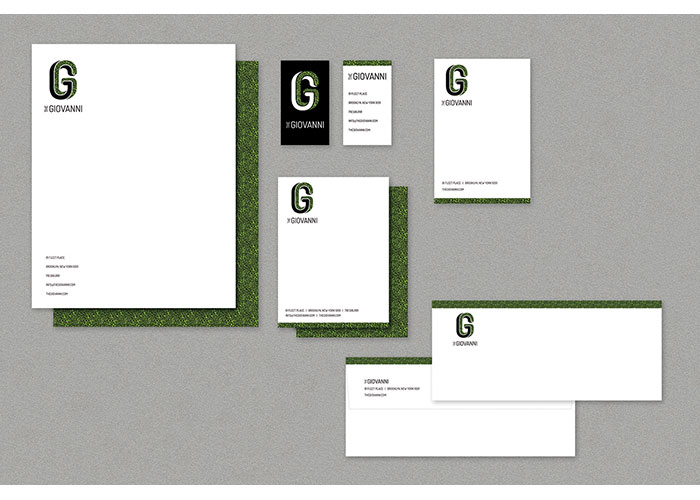 The Giovanni Stationery