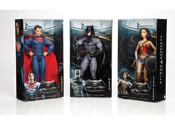Batman™ v Superman™ Dawn of Justice Barbie® Dolls by Mattel, Inc.