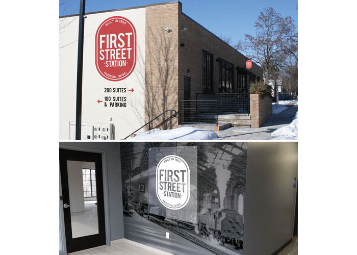 First Street Station Branding by Christiansen Creative