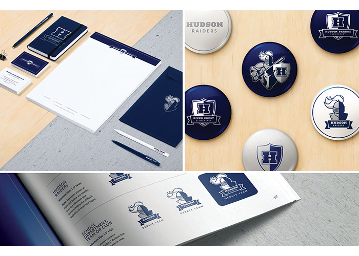 Hudson School District Branding