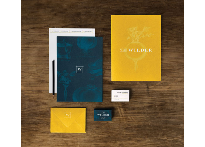 The Wilder Scratch Kitchen Branding