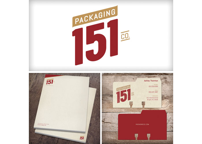 Packaging 151 Co. Branding
