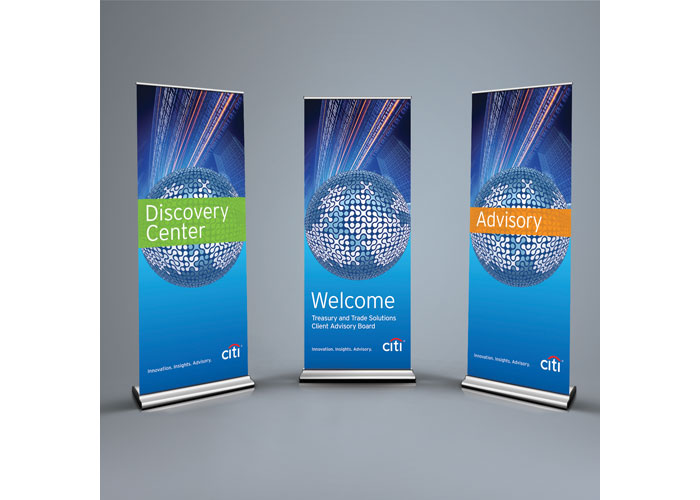 Client: Advisory Board Banners by Citi Business Communications