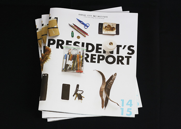 2014-15 President's Report by Kansas City Art Institute