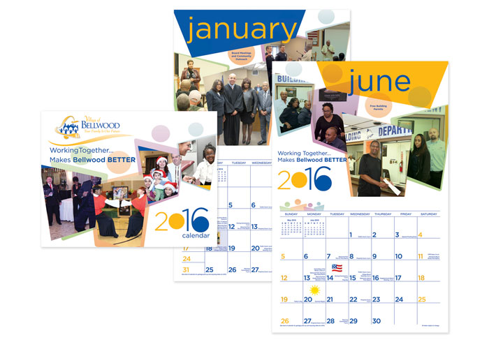 2016 Annual Community Calendar by Mazique Design Services