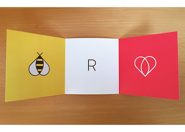Valentine Card Promotion by Michael Courtney Design