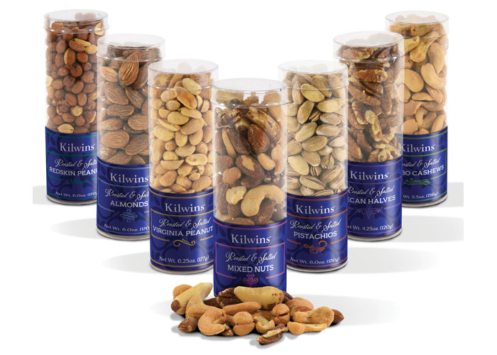 Kilwins Premium Nut Collection by Carol Sullivan Design