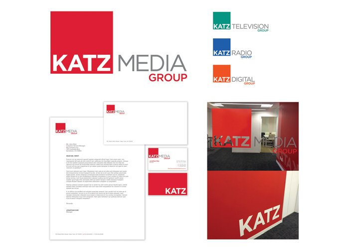 Katz Media Group Branding and Identity
