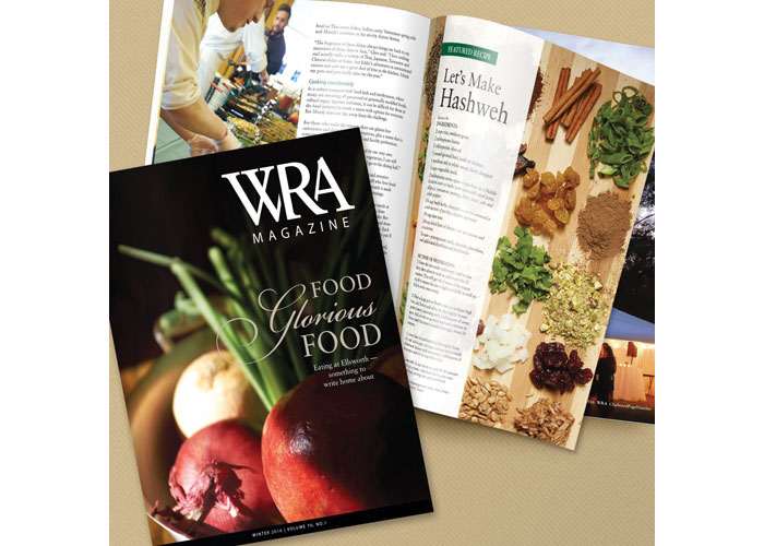 WRA Magazine by Blue Star Design