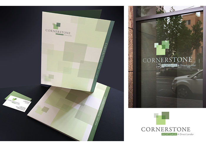 Cornerstone Mortgage Branding and Collateral