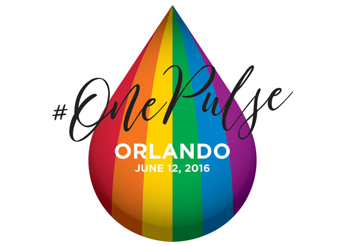 Memorial Logo For Pulse Shootings in Orlando - #OnePulse