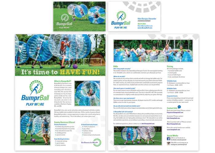 BumprBall Branding by CSE Identity Design