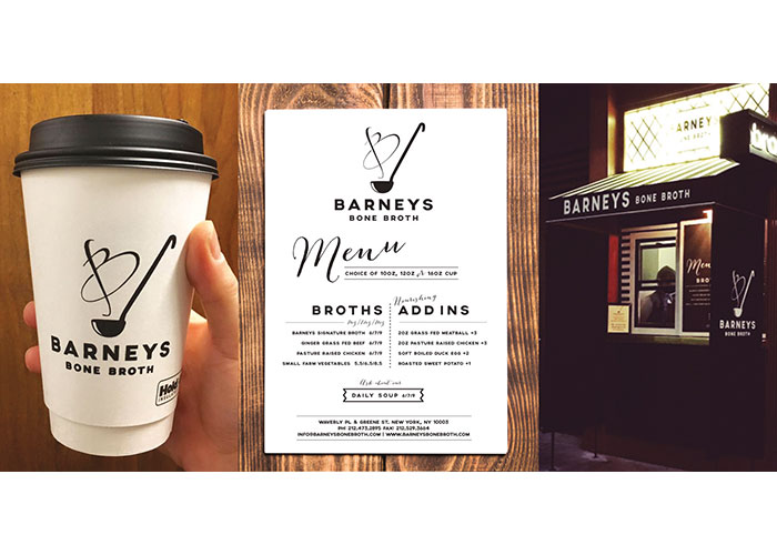 Barneys Bone Broth Logo and Branding
