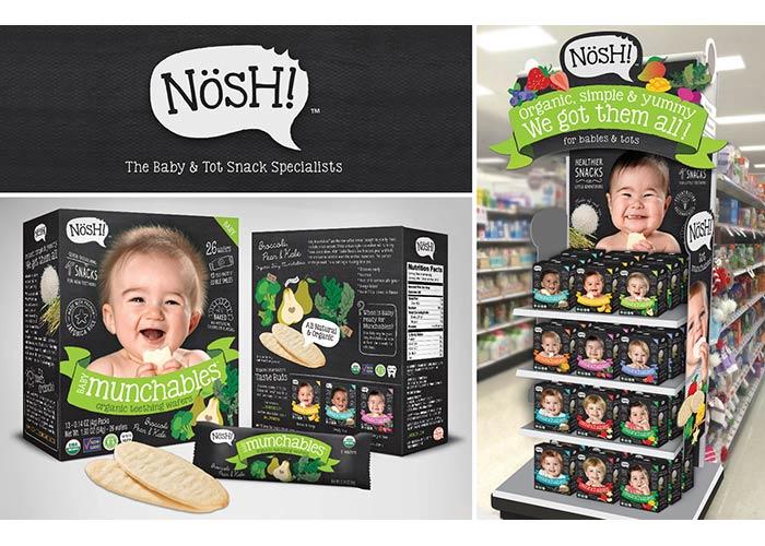 Nosh Brand Identity by Fuzion Design