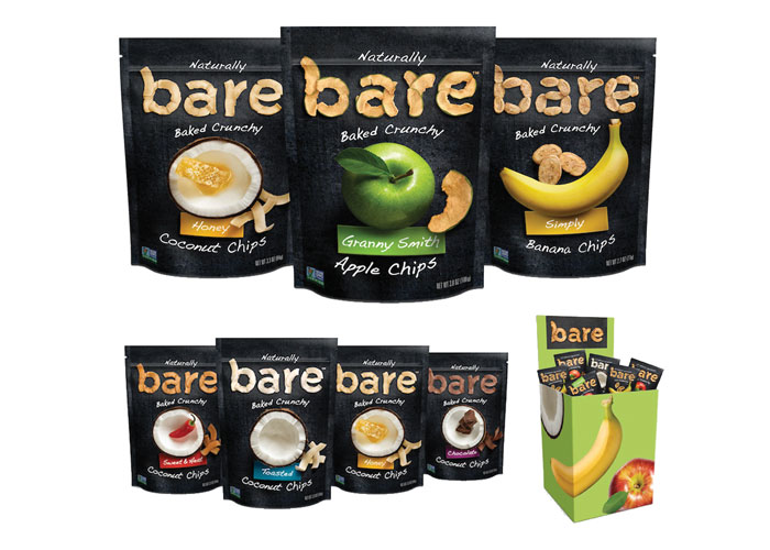 Bare Snacks Package Redesign by Sterling Brands