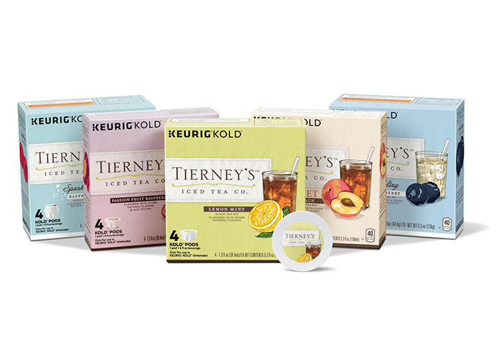 Tierney's Tea Packaging by Interbrand