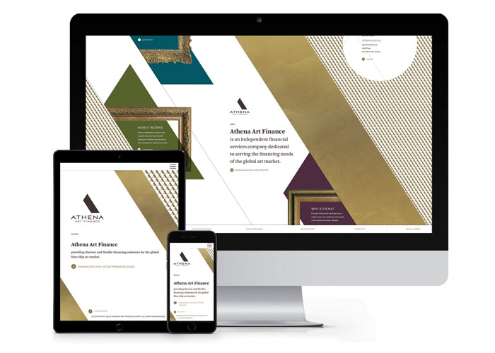 Athena Responsive Website by Leibowitz Branding & Design