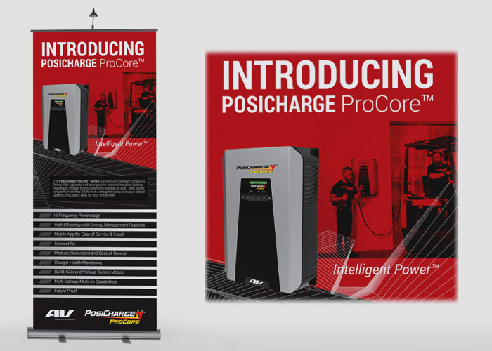 PosiCharge ProCore Banner Design