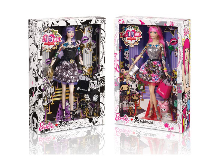 tokidoki® Barbie® Doll Black and Platinum Labels by Mattel Inc.