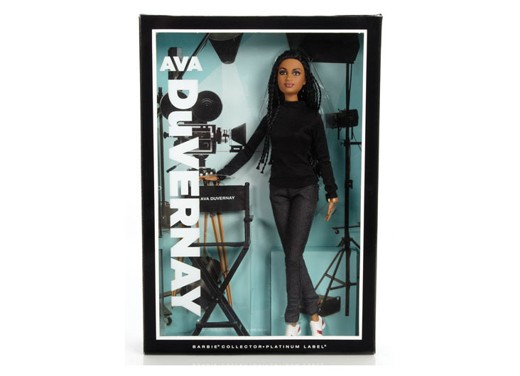 Ava DuVernay Barbie® Doll by Mattel Inc.