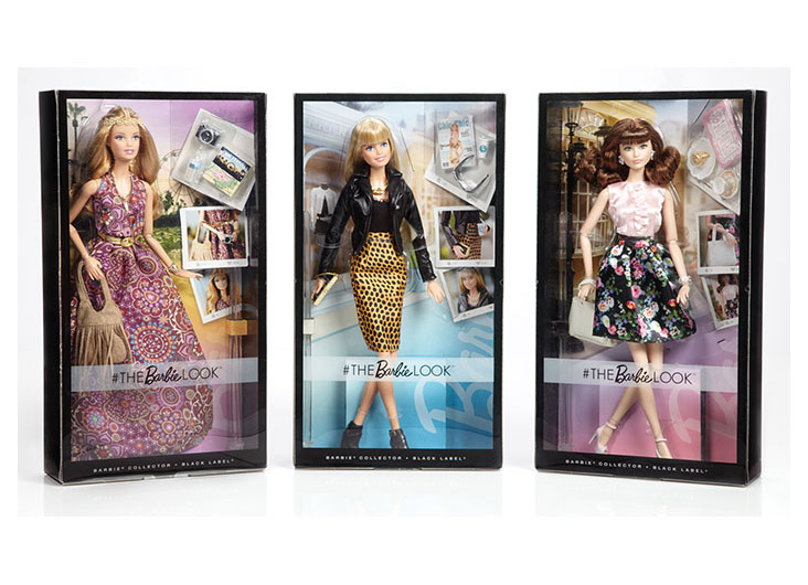#TheBarbieLook™ Barbie® Dolls by Mattel Inc.
