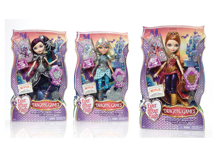 Ever After High® Dragon Games Dolls by Mattel Inc.