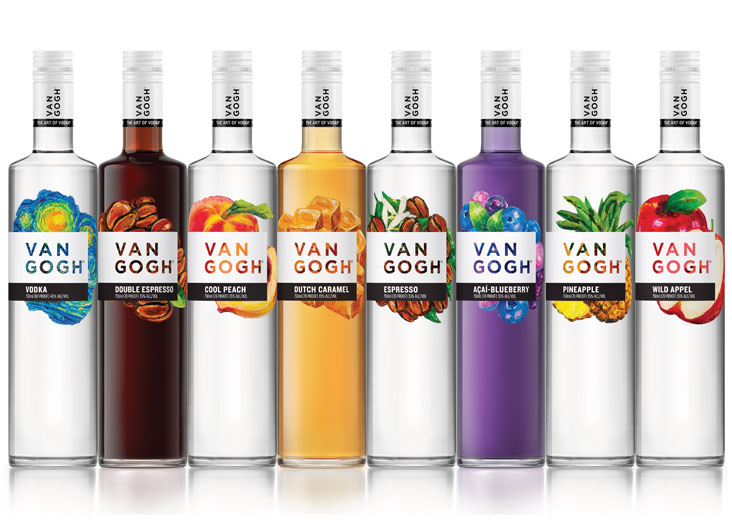 Van Gogh Vodka by Spring Design Partners