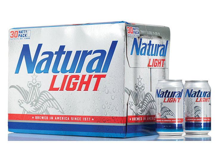 Natural Light Package Redesign by LPK