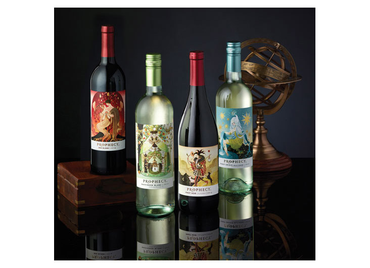 Prophecy Wine Family Packaging Design by E & J Gallo Winery/Creative Services