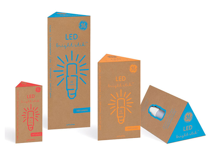 GE Bright Stik Redesign by Portfolio Center