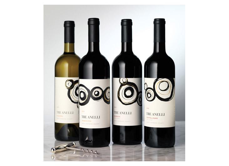 Tre Anelli by CF Napa Brand Design