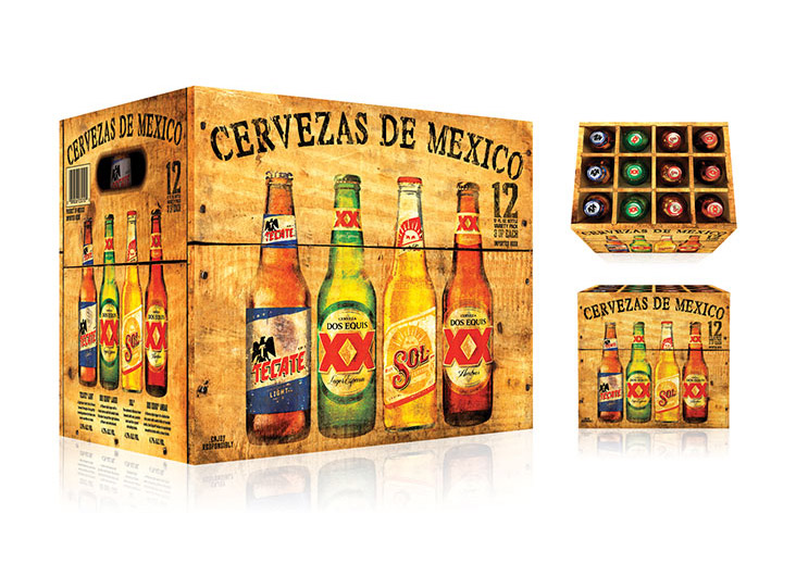 Beers of Mexico Variety Pack Redesign  by HMSDesign