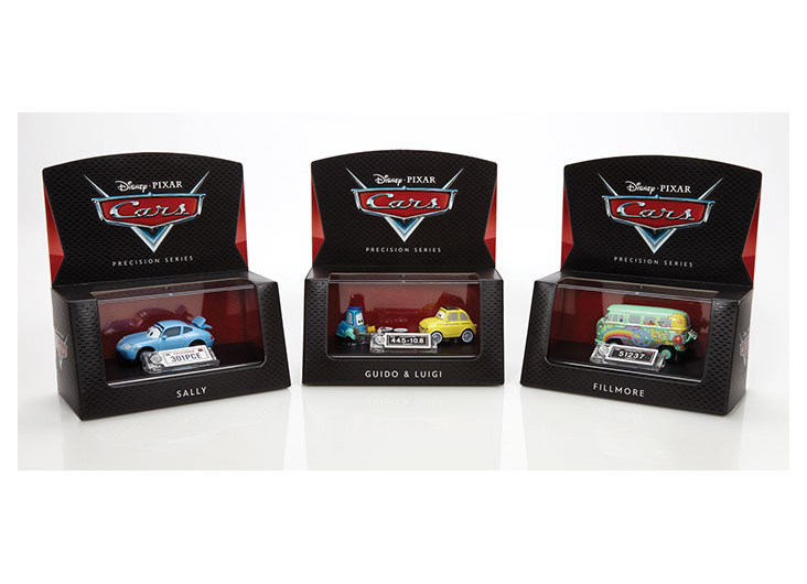 Cars Precision Series Die-Cast Vehicles Assortment by Mattel Inc.
