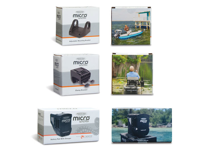 Micro Anchor Accessories Packaging by JL Marine Systems Inc.