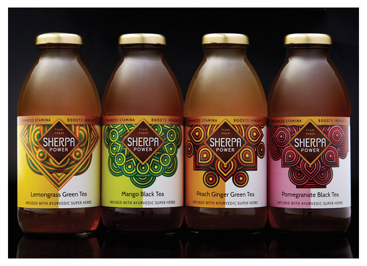 Sherpa Power Teas by Gauger + Associates San