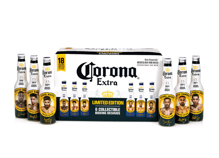 Corona Extra Boxing Promotional Packaging by Interbrand