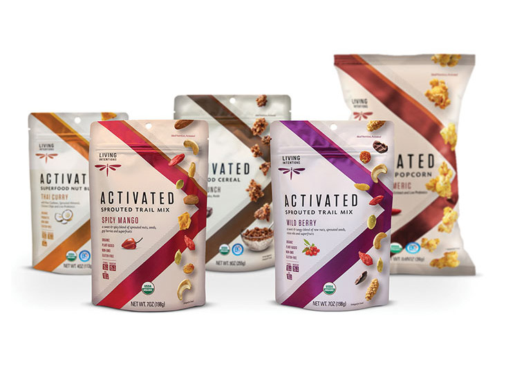 Living Intentions Packaging and Brand Strategy by Retail Voodoo