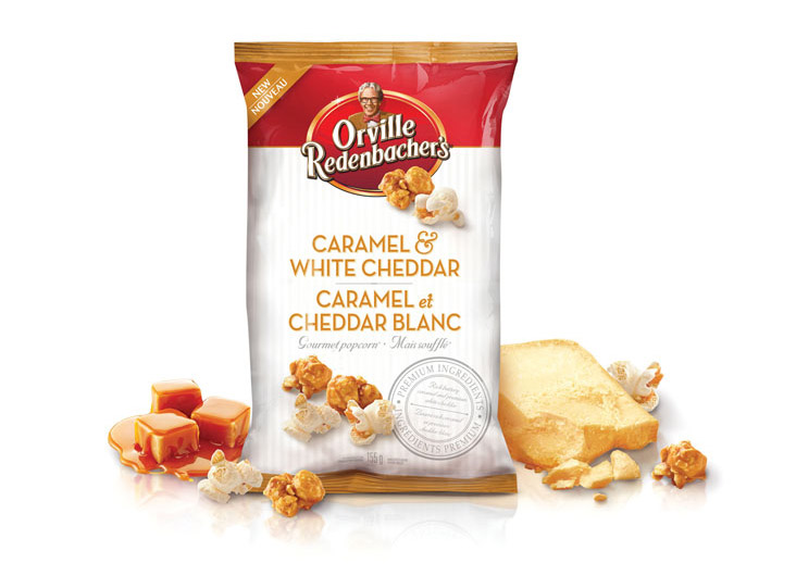 Orville Redenbacher's Caramel & White Cheddar Gourmet Popcorn by Anthem Worldwide