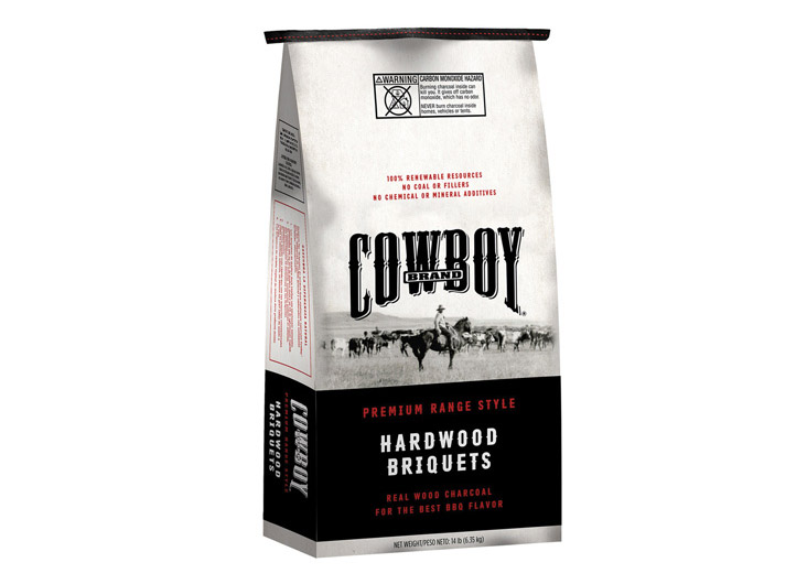 Cowboy Brand Hardwood Briquets by Brand Zoo