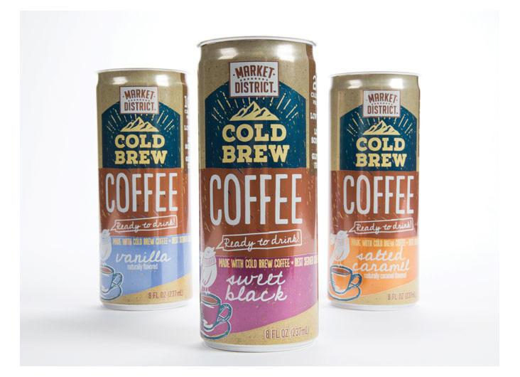 Market District Coffee Drink by Galileo Global Branding Group