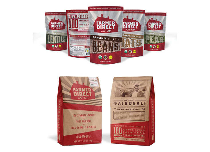 Grains Bulk and Shelf Packaging by Modern Species