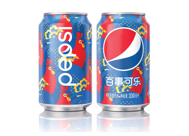 Pepsi Year of the Rooster Limited Edition Can China by PepsiCo Design & Innovation