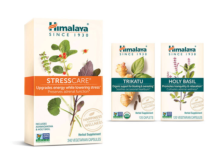 Himalaya Herbal Supplement Packaging Redesign  by LAM Design